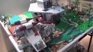 getlinkyoutube.com-Lego Star Wars: Clone Base On Corellia