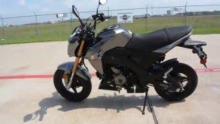 getlinkyoutube.com-$2,999:  2017 Kawasaki Z125 Pro Metallic Graphite Gray Overview and Review