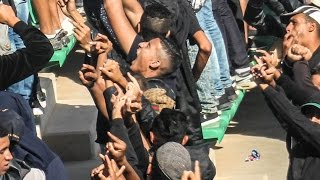 getlinkyoutube.com-جمهور الرجاء باللون الأسود  في أكَادير بعنوان الحرية للإلطراس المغربية - Liberta Ultras