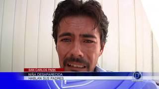 Hablan los padres de la niña desaparecida en San Carlos Park
