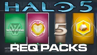 getlinkyoutube.com-Halo 5: Guardians - First REQ Pack Opening! (Premium, Gold, HCFP Packs)