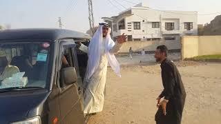 Asghar Khoso | Funny clip | Pakistan By Road | Pakistani in Crises