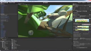getlinkyoutube.com-PolyWorld Terrain Component for Unity