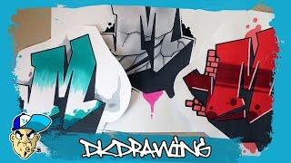 getlinkyoutube.com-Graffiti Tutorial for beginners - 3 ways of graffiti fill ins & outlines (1/2)