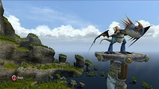 How to Train Your Dragon 2: The Video Game - Stormfly | Open World Free Roam Gameplay [HD]