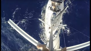 getlinkyoutube.com-17 Days at Sea Crossing The Atlantic (Sailing La Vagabonde) - Ep.8