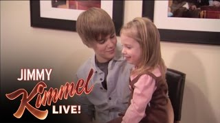 getlinkyoutube.com-Jimmy Surprises Bieber Fan