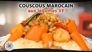 getlinkyoutube.com-Choumicha : Recette de Couscous marocain aux légumes (VF) - Moroccan Couscous
