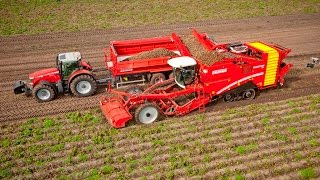 Grimme Multitrailer 350 with VARITRON 470 TERRA TRAC