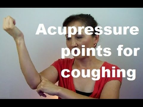 Acupressure points for cough - Massage Monday #199