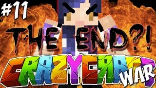 getlinkyoutube.com-THE END?! - YouTuber Survival Crazy Craft 3.0 WAR - Ep 11