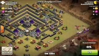 getlinkyoutube.com-Clash of Clans:TH9 Clan Wars base build!