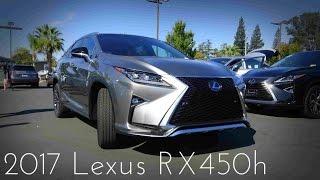 getlinkyoutube.com-2017 Lexus RX450h F-Sport Hybrid Review