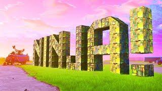 BUILDING NINJA ON THE SPAWN ISLAND | Fortnite Custom Game