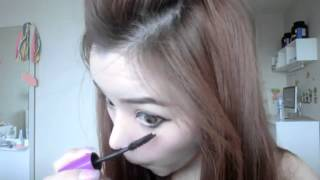 getlinkyoutube.com-How to Makeup(ฟรุ้งฟริ้ง)  style ice