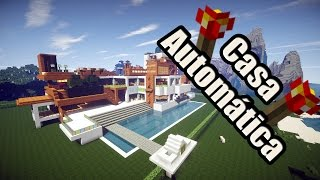 getlinkyoutube.com-Minecraft - Casa Automática | Redstone | + Descarga
