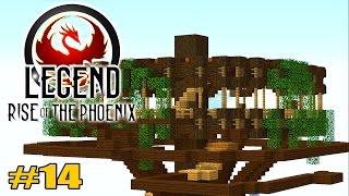 getlinkyoutube.com-Eine kleine Baufolge :3!: Minecraft Legend #14 - Rise of the Phoenix