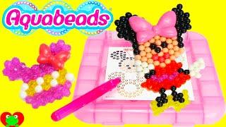 getlinkyoutube.com-Minnie Mouse Aquabeads Playset