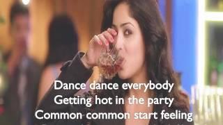 Nachange Saari Raat Lyrics Video from Junooniyat (2016)