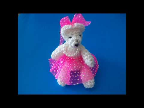 Souvenir para Bodas o Quince Años en crochet