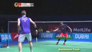 getlinkyoutube.com-[Highlights]Chen Long Vs Viktor Axelsen[Destination Dubai 2015]
