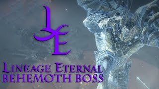 getlinkyoutube.com-Lineage Eternal Online - Behemoth World Boss Event