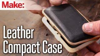 getlinkyoutube.com-DiResta: Leather Compact Case