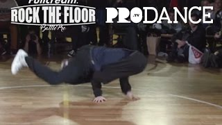 getlinkyoutube.com-Bruce almighty vs B-Girl Terra | SEMI FINAL | ROCK THE FLOOR 2016