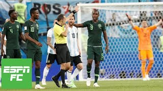 Argentina vs. Nigeria analysis: Just what is a handball anyway?   ESPN FC