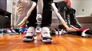 getlinkyoutube.com-Air Jordan Retro Collection 1-14 ON FEET