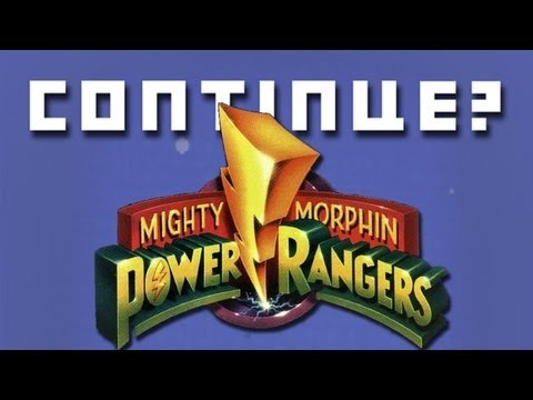 Mighty Morphin Power Rangers (SNES) - Continue?