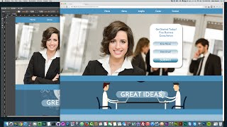 getlinkyoutube.com-Adobe Muse CC 2014 | Creating A Business Landing Page | Muse For You