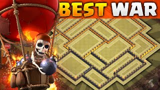 Clash of Clans - NEW Update TH10 WAR BASE!! CoC Epic Town hall 10 Anti-Three Star/Trophy BASE!!