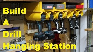 getlinkyoutube.com-Drill/Driver Hanging Station