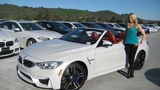 getlinkyoutube.com-NEW BMW M4 Convertible - Exhaust Sound - Black M Wheels - Full Review
