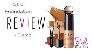 getlinkyoutube.com-Stila Foundation Review (+Demo) -TotalDivaRea