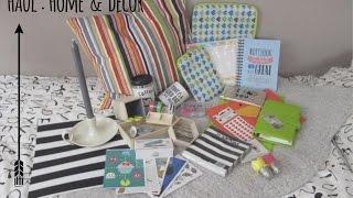 getlinkyoutube.com-HAUL : HOME & DECOR(mr.wonderfulshop/Tiger/Ikea) || Federica Effe