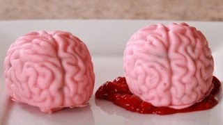 getlinkyoutube.com-How To Make BRAIN CAKE POPS- Quake N Bake