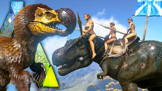 getlinkyoutube.com-Ark Survival Evolved - Dodorex VS Tribes! Fear Evolved DodoRex NPC Tribe Wars Gameplay