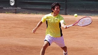 【札幌国際OP2014】奥大賢vs西岡良仁[Tennis: Hiromawa Oku vs Yoshihito Nishioka]
