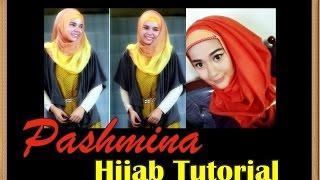 getlinkyoutube.com-Tutorial Hijab Pashmina Inspired by Hana CHSI Dewi Sandra Part #48