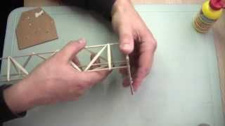 getlinkyoutube.com-Cómo hacer una estructura de base triangular con pinchos y palillos