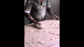 getlinkyoutube.com-طريقة عمل بلاطة الجبس  How to make gypsum board