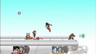 getlinkyoutube.com-Goku vs Naruto vs Mario vs Sonic - SSF2