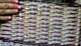 getlinkyoutube.com-Combinacion del tejido indiano con una cuerda