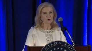 getlinkyoutube.com-Tricia Nixon Cox Remarks at President Nixon's 100th Birthday