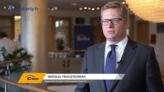 Enea SA, Mikołaj Franzkowiak - Wiceprezes Zarządu ds. Finansowych, #55 PREZENTACJE WYNIKÓW