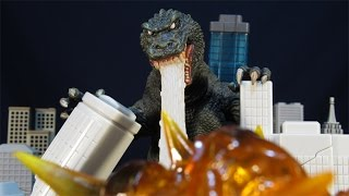 getlinkyoutube.com-NECA 2001 GMK GODZILLA 12 INCH HEAD-TO-TAIL KAIJU FIGURE REVIEW