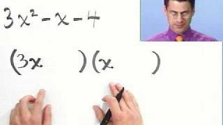 getlinkyoutube.com-Factoring Trinomials Completely, Part 1 of 2, from Thinkwell College Algebra