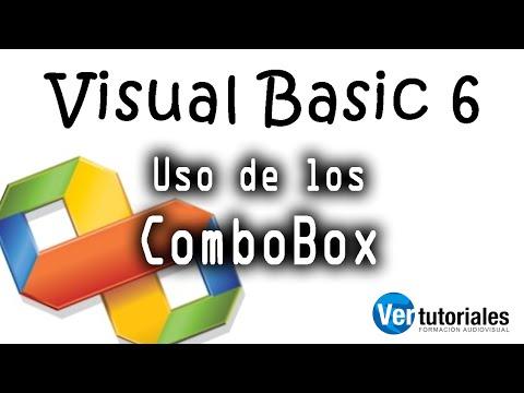 Visual Basic 6 (vb6) Componente ComboBox